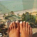 relaxar no terraço do hotel olhando essa paisagem, não tem preço !