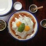 Chilaquiles con huevo, simplemete deliciosos!