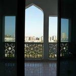 Balcony of the room