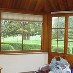 View from dining area - Heritage Cottage