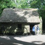 One of the Thatched huts on the grounds