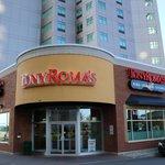Tony Romas de comedor del hotel