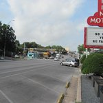 South Congress and motel sign