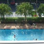 Nice pool room view