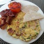 My American breakfast