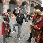 """little atraction with the """"GLADIATORS"""""""