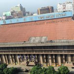 View from the room, Taipei main station