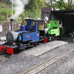 Good selection of locomotives to see