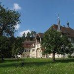 les musées et l'église baroque