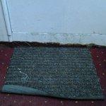 Door mat in room