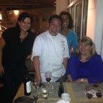 Chef Danny Mai & my guests, Vicki & Nicole