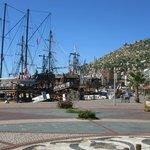Pleasure cruisers in the harbour
