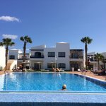 A lovely pool area and no fighting for sunbeds