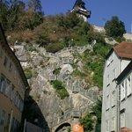 zum Abschluß die Schloßbergtreppe