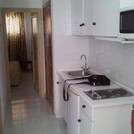 Basic but clean kitchen