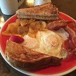 Breakfast at Huckleberry
