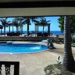 Aussicht Pool - Bungalow