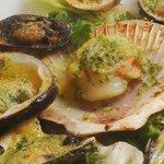 Fruits de mer gratinés / sea food gratiné