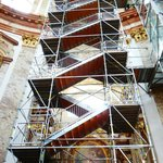 Scaffolding at Karlskirche