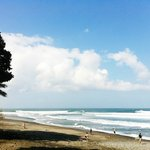 Balian Beach lies right in front of the hotel