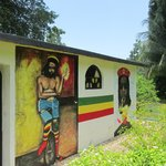 The Tomb of Peter Tosh side wall