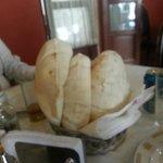 Pan arabe calientito