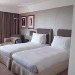 chambre, 2 lits comme demandé a la commande