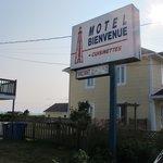 devant du motel