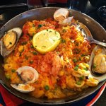 Say yes to seafood paella