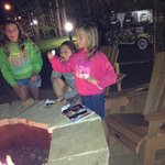 S'mores around the firepit
