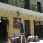 El delicioso restaurante vegetariano y tienda de rico pan