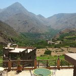 The view from Imlil lodge