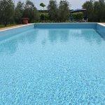 la vasca della piscina
