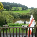 River Severn from the decking