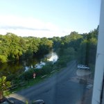River Severn from the bedroom window