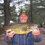 Fishing on Moore's Pond - 50 Acre Lake - Bass