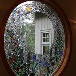 Beautiful window in the dining area