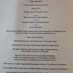 personalized menus!