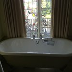 Bath overlooking the Close