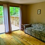 Deluxe Cabin - Chocorua House - Living Room