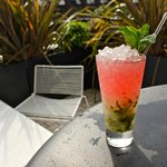 Pink Mojito ( with tequila)