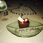 A birthday cake...