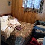 Cabin Bedroom with Playpen