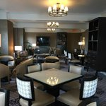 Newly decorated Fairmont Gold Lounge