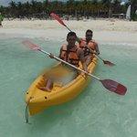 Kayak en el Riu Lupita