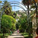 Un beau parc pour ncette résidence