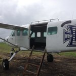 Cessna 206: great rate of climb