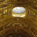 Side chapel ceiling