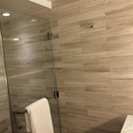 Walk-in rain shower, love the Fresh amenities