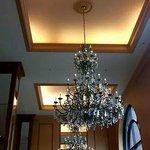 Fancy Chandelier in the Lobby